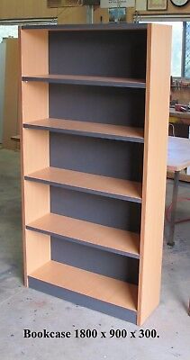 Bookcase, brand new, assembled, Australian Made. Factory direct sale.