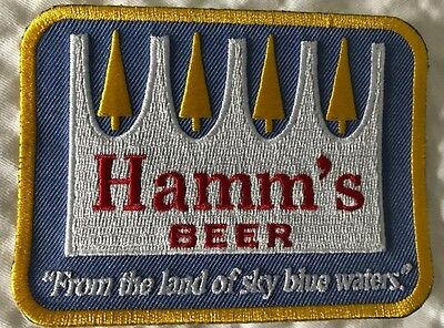2 Hamm's Beer patches for one price