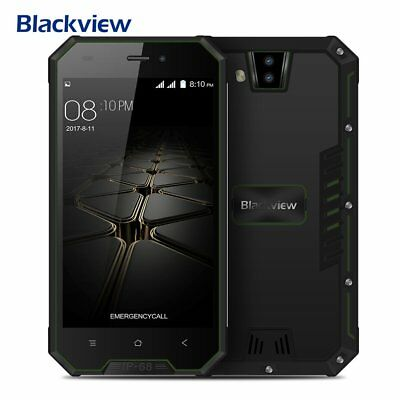 Outdoor Handy 3Kam Android7.0 4Core 8GB Smartphone Blackview BV4000 Wasserdicht*