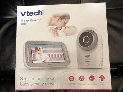 VTech 4.3-inch Digital Video Baby Monitor with Automatic Night Vision VM341