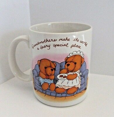 SIMPLE VALENTINES Grandmothers Make The World A Beary Special Place Ceramic Mug