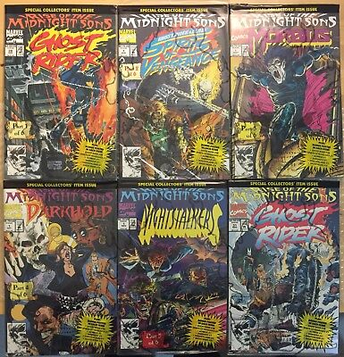 Rise of the Midnight Sons (6 Part Series) - COLLECTOR'S EDITIONS - Ghost Rider!