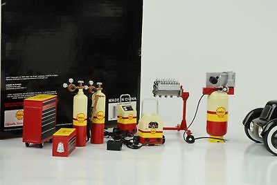 Shell Oil Tool Set Garage Diorama accessorie 1:18 GMP No Figurine