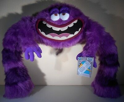 Disney Pixar Monsters University ART XL extra large Plush - New