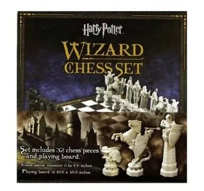 Harry Potter Wizard Chess Set The Noble Collection FREE EXPRESS POST SAME DAY DE