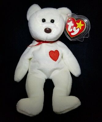 Valentino Beanie Baby with Errors MINT Condition/Brown Nose (rare) & tag errors