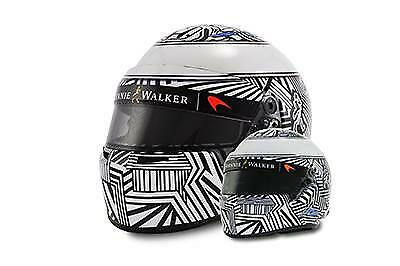 Bell Sports Mini Alonso 2017 McLaren Camouflage 1/2 scale Helmet