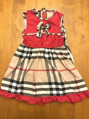 Burberry London Dress 2Y Girls Toddlers Burberry Print