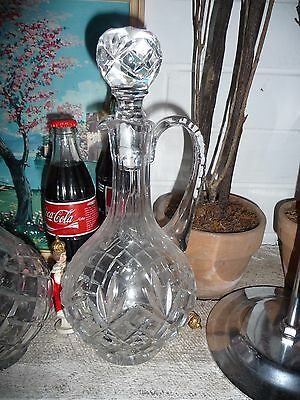 Crystal Decanter with Handle Glass Barware
