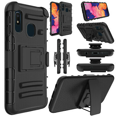 For ZTE Maven 3 / Overture 3 /Avid Trio Belt Clip Holster Stand Phone Case Cover