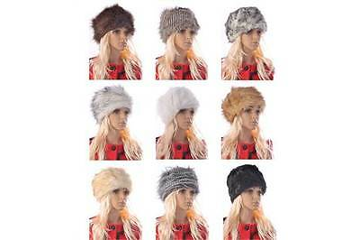 24 x Cossack Hats faux fur (various colours) wholesale winter clearance bargain