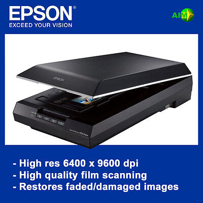 Epson Perfection V550 Flatbed Photo Scanner NEW replaces popular V500 model