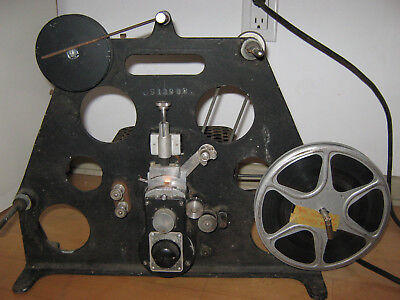 VINTAGE 16mm FILM  MOTION PICTURE  DUPLICATOR w/ motor UHLER  OPTICAL PRINTER