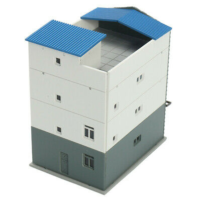 [NEW] N Scale Gauge 1/144 White 7 Story Commercial Trade Building GUNDAM Model S