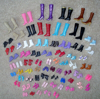 Exquisite 12pairs creative combination BARBIE SHOES Babi Ba ratio doll shoes、ATA