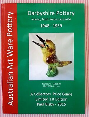 Darbyshire ** 40% OFF🎄CHRISTMAS SALE🎅 ** 2015 Collectors Price Guide RRP $100