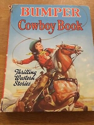 Bumper Cowboy Book. Thrilling Western Stories.