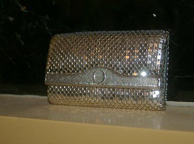 Silver Mesh Vintage Key Wallet By Oroton. Nice Condition.