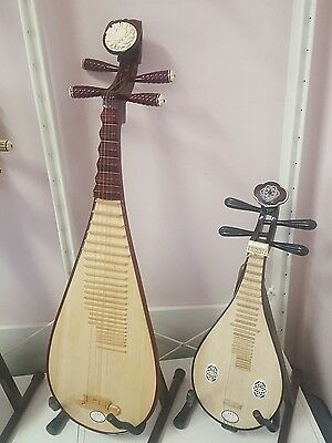 Chinese guitars for music lovers! duo set!Pipa and Liuqin with free delivery!