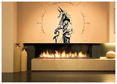 Wall Room Decor Art Vinyl Sticker Mural Decal Seth Egyptian God Big Large AS1079