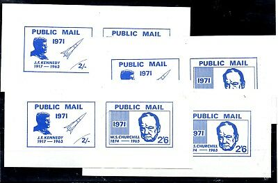Postal Labels From The Great Britain,postal Strike 1971,,