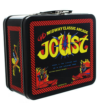 Midway Classic Arcade Tin Lunch Box, Joust