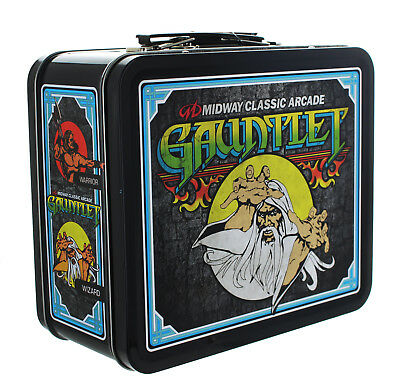 Midway Classic Arcade Tin Lunch Box, Gauntlet
