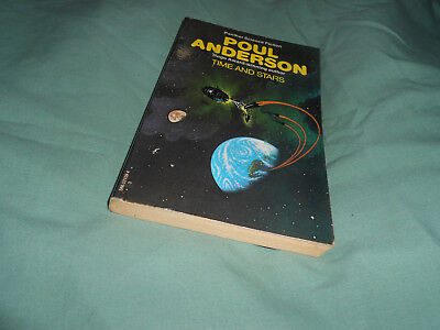Time and stars by Poul Anderson  p/b sf 1975