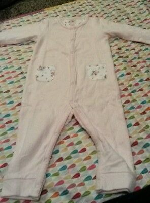 Cath Kidston baby sleepsuit and matching hat 6-9m - NEW WITH TAGS