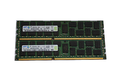 Samsung 16GB (2 x 8Gb) 2Rx4 PC3L 12800R-11-11-E2-D3 DDR3 1600MHz ECC Registered