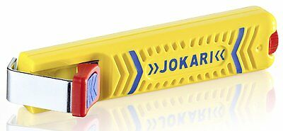 Jokari 10160 Secura Cable Stripping Knife for All Standard Round Cables, No. 16,