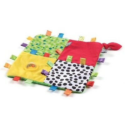 Playgro Baby Loopy Loops Blankie 0+ Soft Comfort Toy Sensory Crinkle Rattle Gift