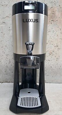 LUXUS 99025 Fetco L4D-10 4 Liter 1 Gallon Beverage Dispenser Thermal Server