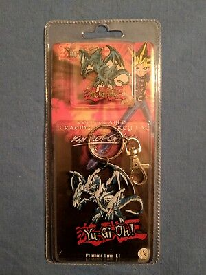 YuGiOh Keychain and Pin - Blue Eyes Ultimate Dragon - Brand New Unopened
