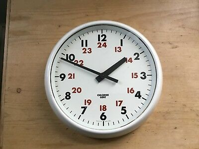 Vintage Gents Of Leicester Original Chloride Wall Clock