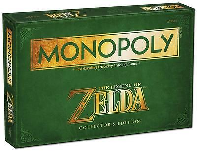 Legend of Zelda Monopoly Collectors Edition BNIB Brand New Sealed Board Game