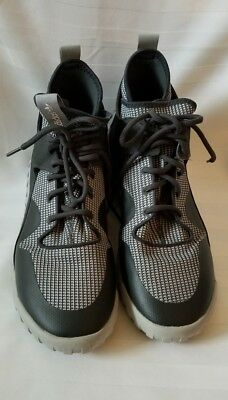 Adidas Tubular X Mens AF6368 Carbon Grey Knit Textile Athletic Mens SZ 11.5 f19011af4