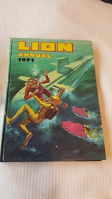 Lion Annual 1971 - Vintage - Used but good condition inside