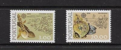 Portugal 1976 Mint Stamps CV £78 +