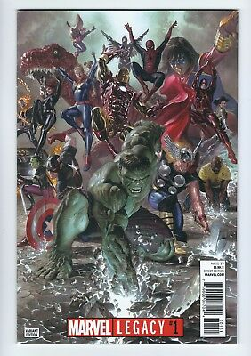 Marvel Legacy #1 : Alex Ross 1:50 Variant : 2017