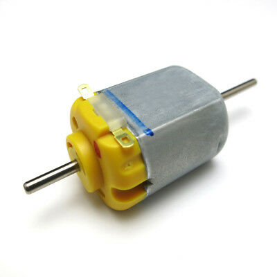 DC6V Mini Metal Gear Motor from 30 to 400RPM Long Shaft Screw Thread M3x55mm Pro
