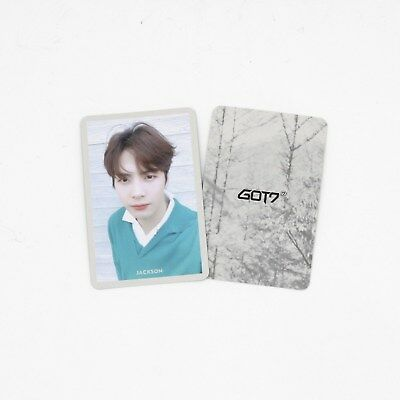 [GOT7]7 for 7 Present Edition/Official Photocard-JACKSON/Selfie version/1pc