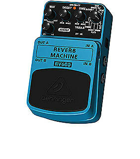 Behringer Reverb Machine Effects Pedal RV600