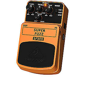 Behringer Super Fuzz Effects Pedal SF300