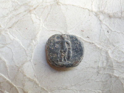 Ancient Byzantine Lead Seal 002