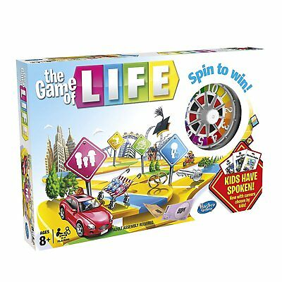 Hasbro Game of Life Board Game. Family Friends Party Fun Present Gift