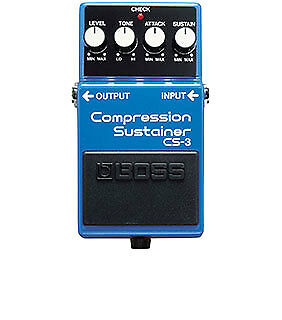 Boss Guitar Effects Pedal Compression Sustainer CS-1
