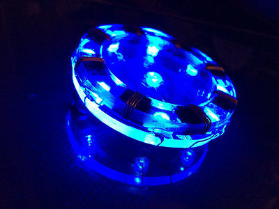 New Iron Man Tony Stark Cool Blue Arc Reactor