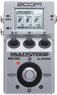 Zoom MS-50G Single Stompbox Multi Effects Pedal