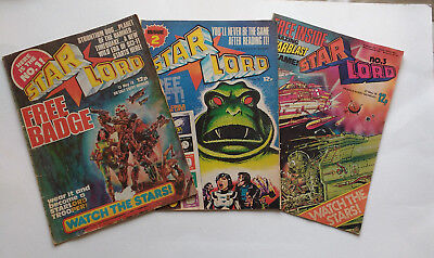 StarLord Collection Guardians of the Galaxy 1978 19 Comics Original 2000AD